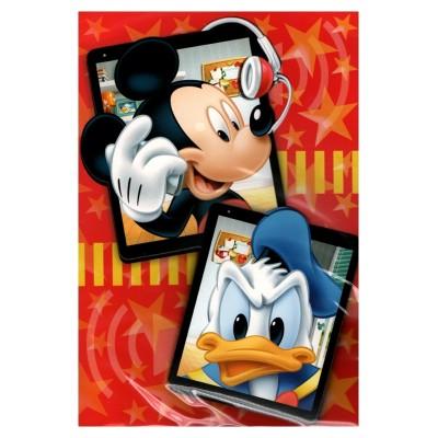 2 cartes de vœux Disney 3D