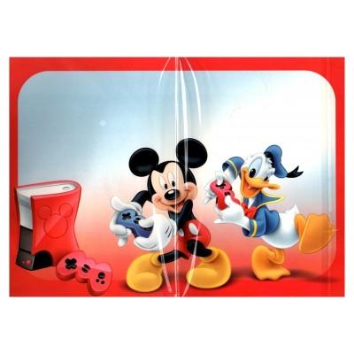 2 cartes de vœux Disney 3D intérieur