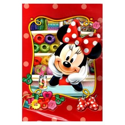 Carte de vœux Disney 3D Minnie