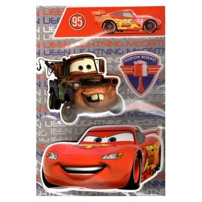Carte de vœux Disney 3D Cars