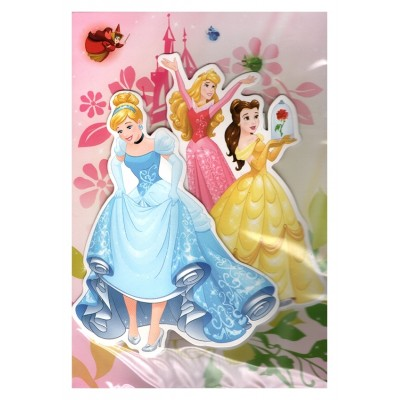 Carte de vœux Disney 3D Cendrillon