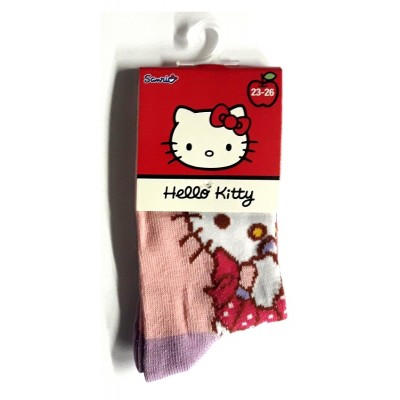 Taille 23-26 - Chaussettes Hello Kitty Rose