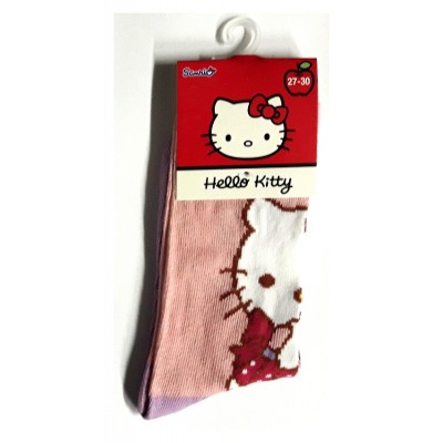 Taille 27-30 - Chaussettes Hello Kitty Rose