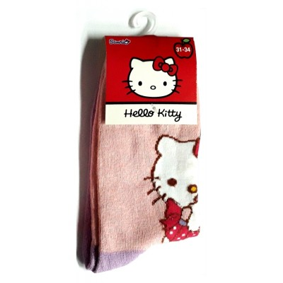 Taille 31-34 - Chaussettes Hello Kitty Rose