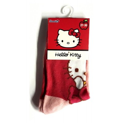 Taille 27-30 - Chaussettes Hello Kitty Rouge