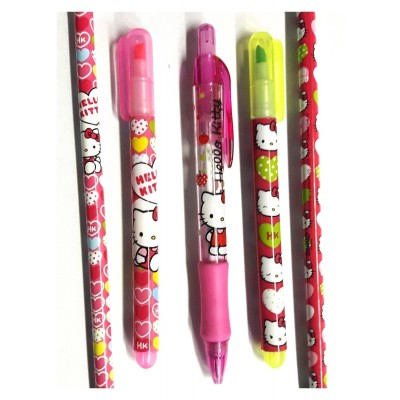 Pack stylos Hello Kitty