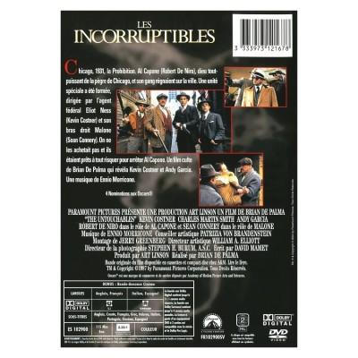 dvd les incorruptibles le film
