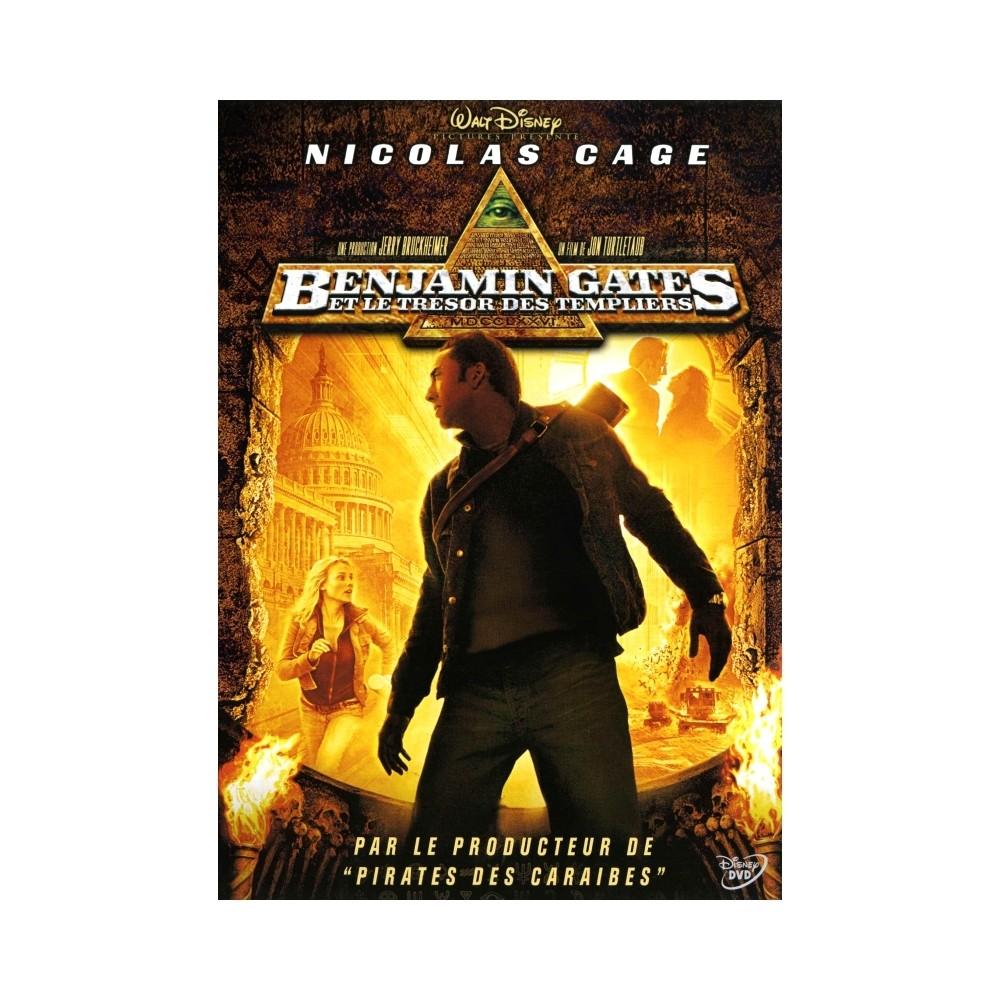 DVD Benjamin Gates et le trésor des templiers