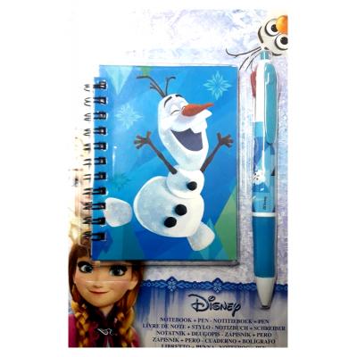 Livre de note Disney Olaf + Stylo