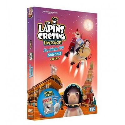 DVD Les Lapins Crétins : Invasion - La série TV - Saison 2 - Partie 3 [Édition Limitée]