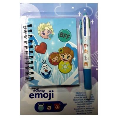 Livre de note Disney emoji + stylo