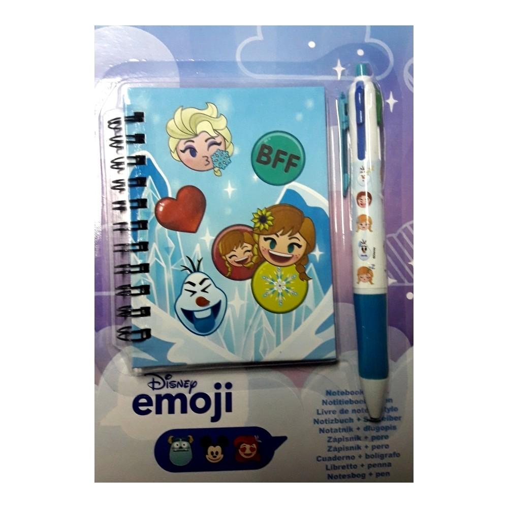 Livre De Note Disney Emoji Stylo Kaishitech