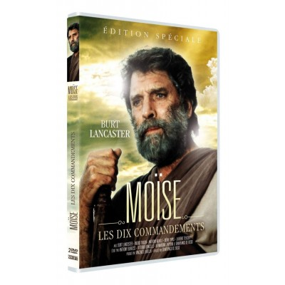 NEUF - DVD Moïse : Les Dix Commandements