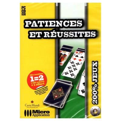 1500 jeux PC Patiences et Réussites