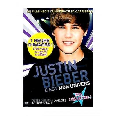 DVD Justin Bieber: C'est mon univers