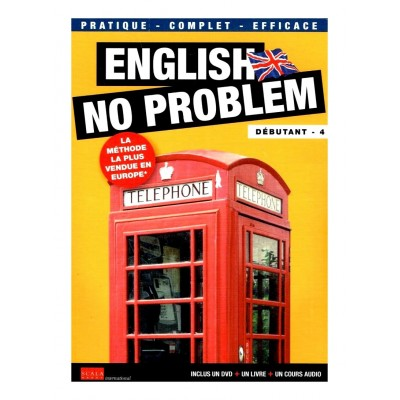 DVD ENGLISH NO PROBLEM - UN DVD + UN LIVRE - DEBUTANT 4 - LECON 16 A 20