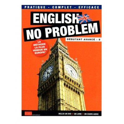 NEUF - DVD ENGLISH NO PROBLEM - UN DVD + UN LIVRE - DEBUTANT 8