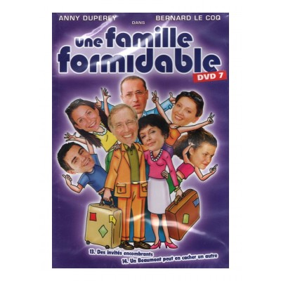 DVD Une Famille Formidable - DVD 7