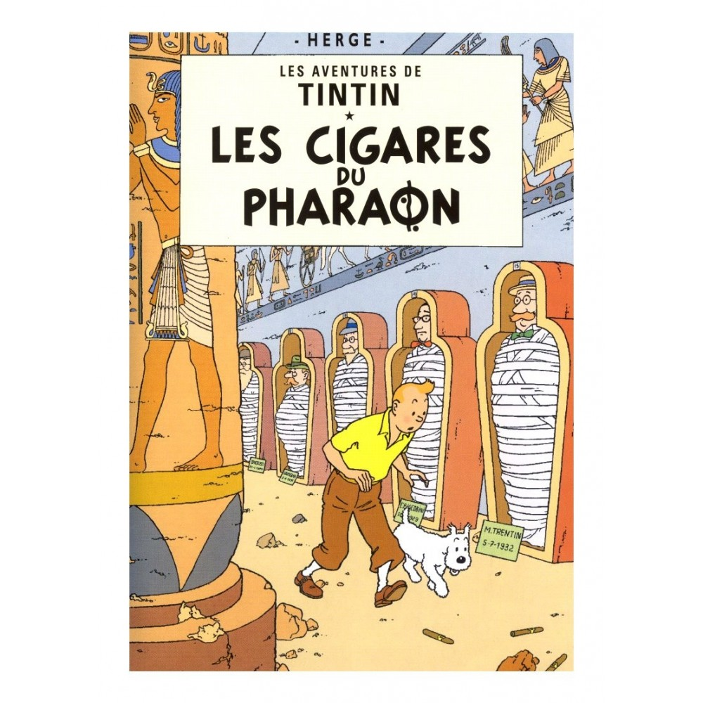 DVD Tintin Les Cigares du Pharaon