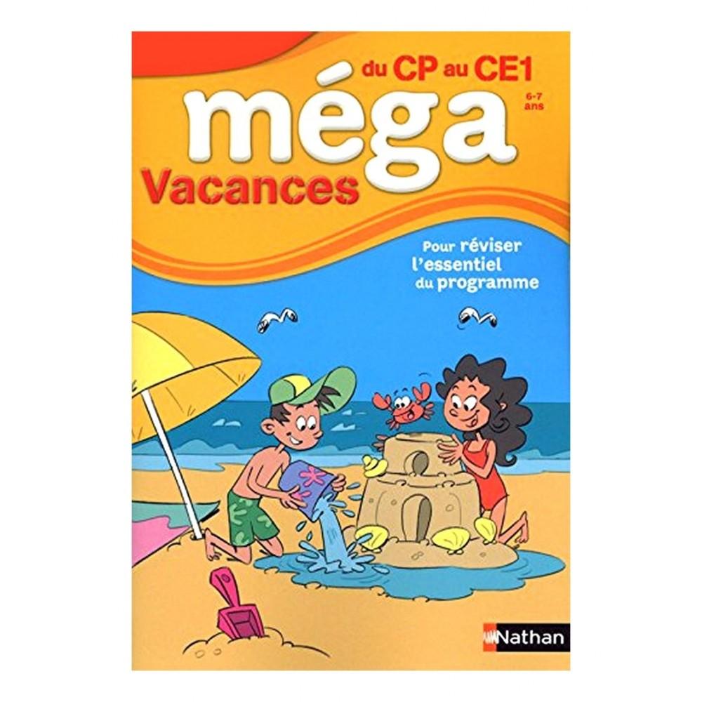 Cahier Méga Vacances du CP au CE1