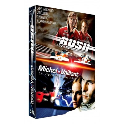 DVD Rush + Michel Vaillant
