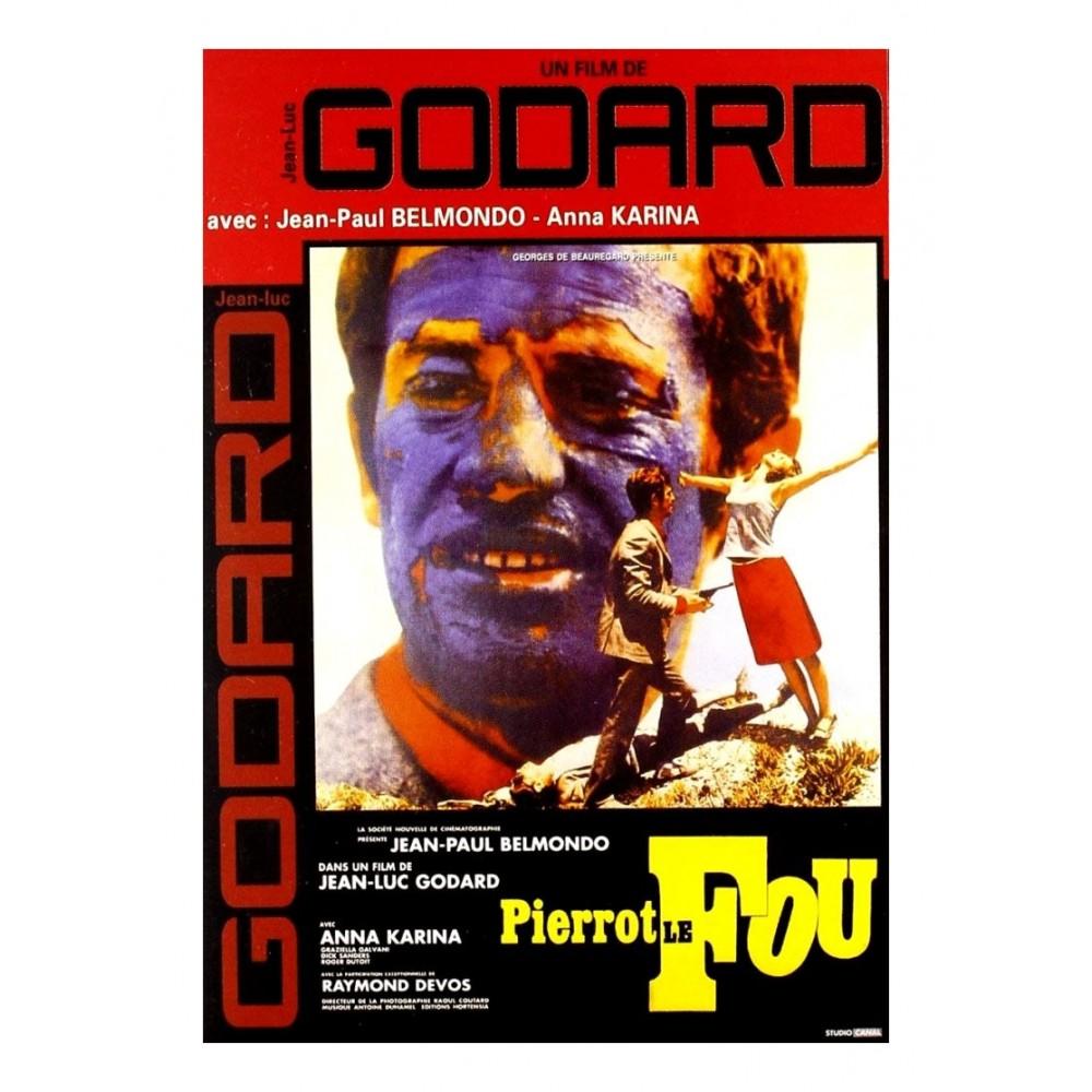DVD Pierrot le fou avec J-Paul Belmondo
