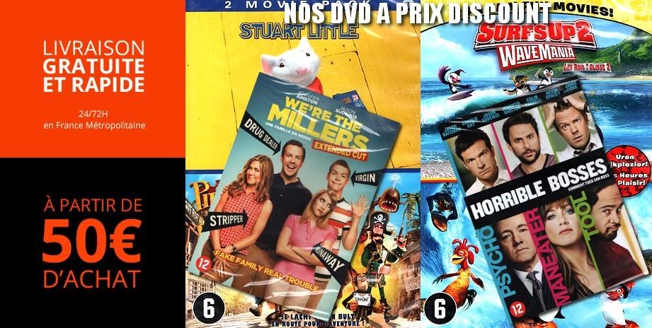 KAISHITECH - Nos dvd et blu-ray neufs à prix discount